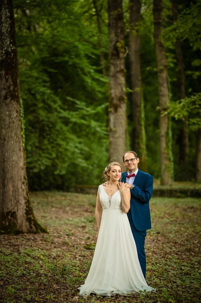 photo mariage insolite nature