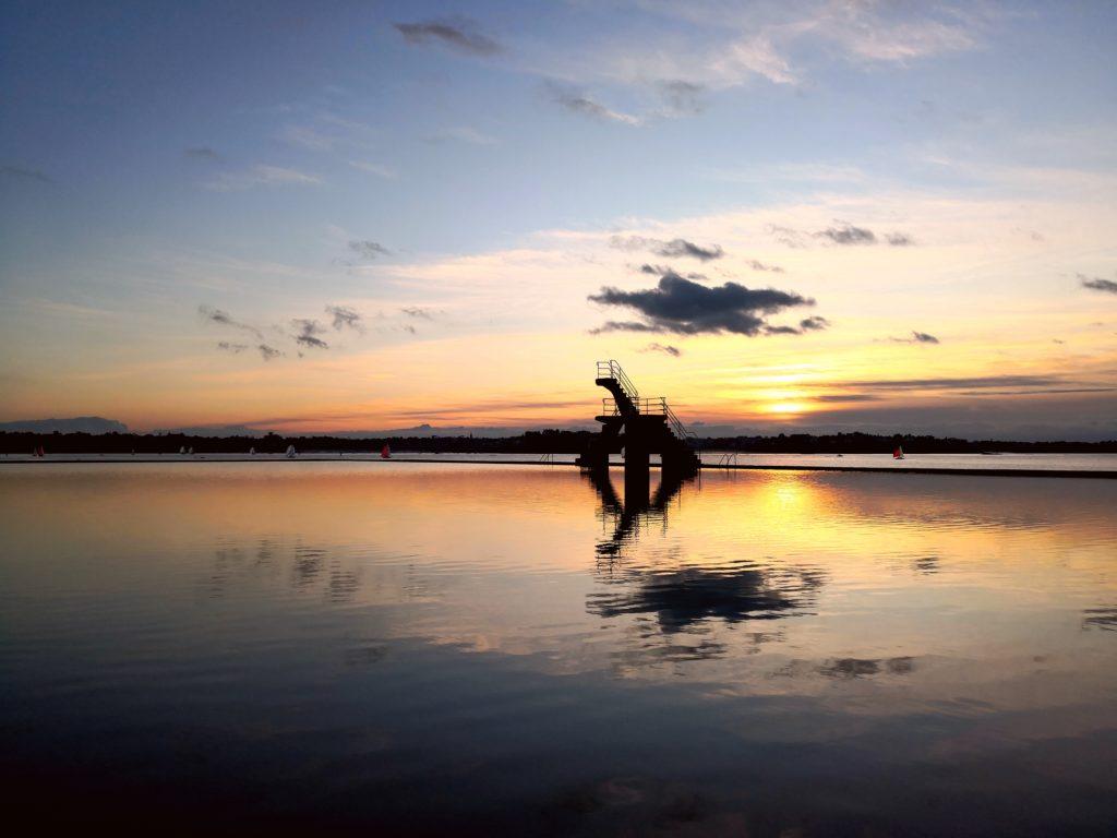 photo mariage insolite mer coucher soleil Saint-Malo